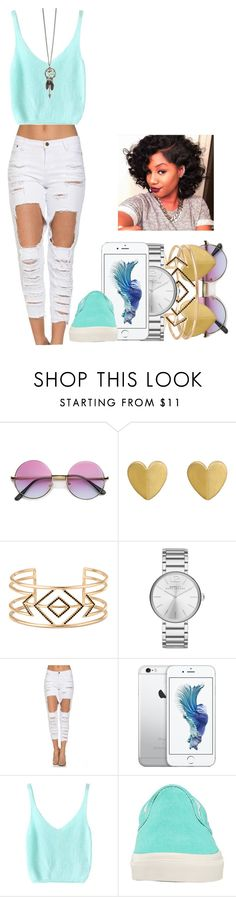 """""""Random :D"""" by marvelfaith ❤ liked on Polyvore featuring mode, Stella & Dot, Marc by Marc Jacobs et Vans"""