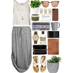 Chill Morning by vv0lf on Polyvore featuring Vero Moda, Chloé, Comme des Garçons, Void, rag & bone, Incase, Le Labo, Fig+Yarrow, SheaMoisture and Lux-Art Silks