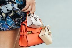 Tommy Ton Street-Style Photos - Spring 2015 Fashion Shows Coach Purses Cheap, Coach Handbags Outlet, Purses And Handbags, Coach Bags, Mini Handbags, Tommy Ton, It Bag, Mini Purse, Neue Trends