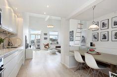 White Loft Apartment