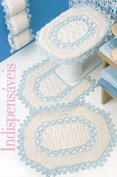 Your Website Title Crochet Fabric, Crochet Books, Knit Crochet, Crochet Stitches Patterns, Stitch Patterns, Bathroom Mat Sets, Crochet Home Decor, Dog Sweaters, Yarn Projects