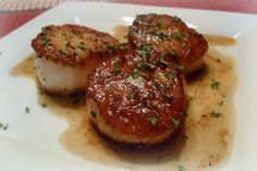 Candid Cooking: Scallops x 2
