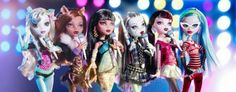 Monster High original ghouls