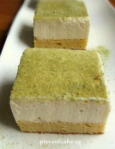 Tofu soyabean cheesecake