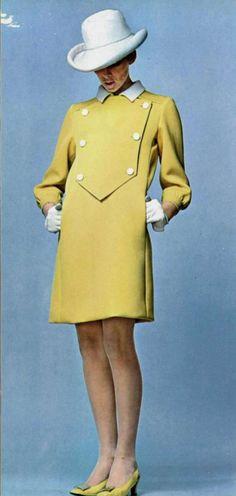 1967  hems are getting shorter.