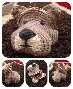 He encontrado este interesante anuncio de Etsy en https://www.etsy.com/es/listing/210166954/dog-coin-purse-crochet-pattern