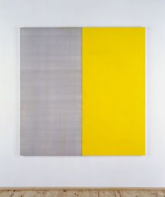 Painting by Scottish artist Callum Innes.