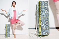 Deine Yogamatte bekommt endlich ein Zuhause! Wir zeigen dir, wie du ganz einfach deine eigene Yogarolletasche nähen kannst. Dieses Projekt eignet sich auch super für Näh-Anfänger!