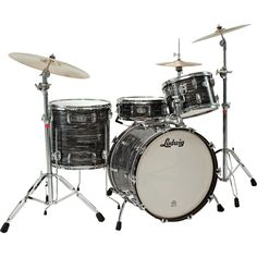 kids drum kits   Ludwig Legacy Classic Liverpool 4 Tom 9x13 Black Oyster Pearl