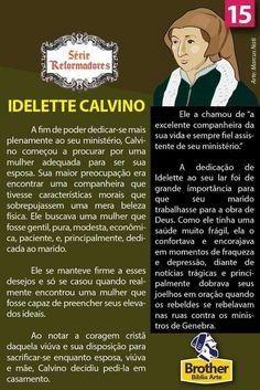 Idelette Calvino