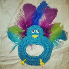 Crochet Camera Lens Buddy Peacock Mickey by TangledUpNStitches, $8.00