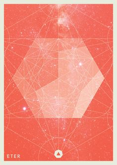 GEOMETRIA ELEMENTAL Serie by Juan Manuel Yañez, via Behance / Sacred Geometry <3