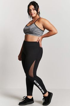 Product Name:Plus Size Active Leggings, Category:plus_size-main, Price:24.9