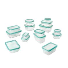 From taking meals on the go to storing them for later, OXO Good Grips Smart Seal Glass Food Storage Containers are the smart way to keep food fresh. Four locking tabs and a removable silicone gasket work together to create a truly spill proof seal fo Glass Food Storage, Food Storage Containers, Kitchen Storage, Crate And Barrel, Plastic Containers With Lids, Snap Food, Storage Sets, Storage Organization, Real Simple