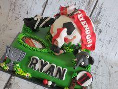 Soccer cake Feyenoord!