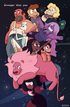 Garnet holding everyone!