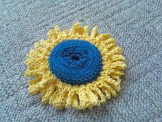 Sunflower scrubbie