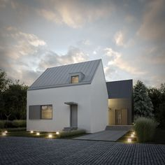 Old House Extension - Pionierska Street - Wrocław 250 sq.m.