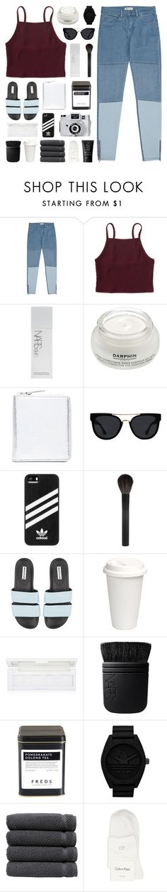 """midas is king and he holds me so tight"" by www-purrtydino-org ❤ liked on Polyvore featuring Reiss, Aéropostale, NARS Cosmetics, Darphin, Holga, Maison Margiela, Quay, adidas, Giorgio Armani and shu uemura"