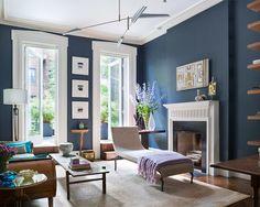 Benjamin Moore Blue Note Living room