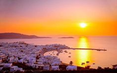 Seeking the Sun in Mykonos & Delos, Greece - 11 Vacations that Will Change Your Life - Coastal Living Mobile Santorini, Mykonos Greece, Mykonos Hotels, Vacation Places, Places To Travel, Places To See, Dream Vacations, Vacation Ideas, Travel Destinations