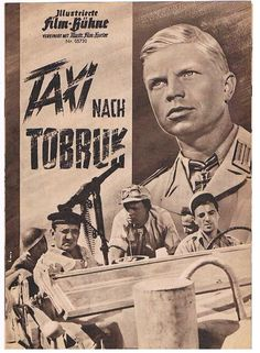 "Ill.Film Bühne Nr:05720 "" Taxi nach Tobruk "" Hardy Krüger,Lino Ventura,Aznavour, in Filme & DVDs, Film-Fanartikel, Filmprogrammhefte | eBay"