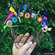 Make a Festive Fairy Garden Bench!