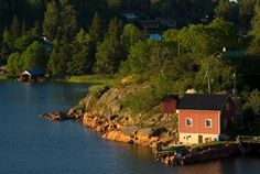 The Åland Islands have plenty of charming rental cottages, which range from luxurious beachside homes to quaint rustic cabins. Travelers who want to visit museums and go out dining and dancing should stay on Fasta Åland, the main island and home to 90 percent of the population. For a quiet summer idyll, rent a place on one of the dozens of smaller islands.