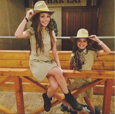 Maddie Ziegler and Mackenzie Ziegler Australia Tour