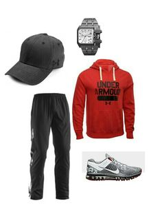 Under Armour, Nike & Diesel watch