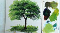 Como Pintar :  Arvore / 1                                                                                                                                                                                 Mais