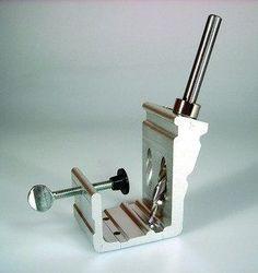 Cabinet Wood Face Frame Drilling Pocket Hole Drill Guide Jig Tool Kit Pockethole - JABETC