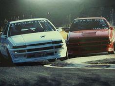 AE86 Tandem drift