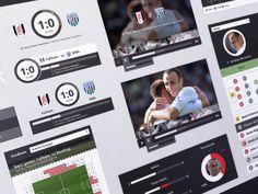 Soccer Ui #UI #Soccer #interface