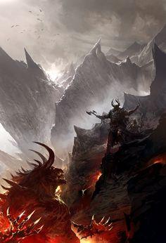 Dark Lord (Kekai Kotaki - http://kekaiart.com/)