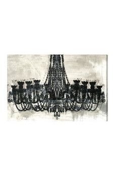 Oliver Gal Gallery - Decadent Soiree 36x24 Reverse Canvas Wall Art