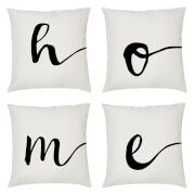 Print on Demand Alphabet Script Cushion - Letter T (45x45cm) Accessorise your home with the Alphabet Script Cushion. Crafted from soft yet durable fabric with soft filling and a machine washable cover, the monochrome pillow features cursive script typography wi http://www.MightGet.com/march-2017-1/print-on-demand-alphabet-script-cushion--letter-t-45x45cm-.asp