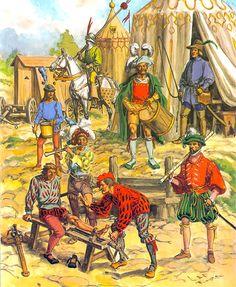 Infantry early XVI century