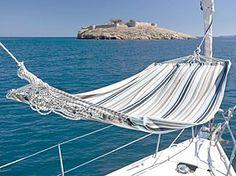 Hammock on a sailboat?! Ideal