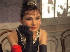 Audrey Hepburn, Atriz Britânica, Museu De Cera