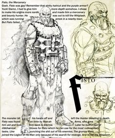 Fisto  ✤ || CHARACTER DESIGN REFERENCES | キャラクターデザイン • Find more at https://www.facebook.com/CharacterDesignReferences if you're looking for: #lineart #art #character #design #illustration #expressions #best #animation #drawing #archive #library #reference #anatomy #traditional #sketch #development #artist #pose #settei #gestures #how #to #tutorial #comics #conceptart #modelsheet #cartoon #warrior || ✤