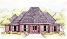 <!-- Generated by XStandard version 2.0.0.0 on 2012-08-24T17:55:40 --><ul><li>This compact French Country home plan has everything you need wrapped up in an elegant Southern exterior.</li><li>The main living area is one huge space thanks to the open floor plan.</li><li>From the kitchen with its raised eating bar, you can see all the way to the living room fireplace.</li><li>A big rear covered porch is ideal for dining outsid...