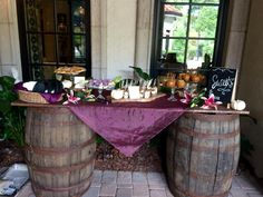 Rustic Baby Shower- Dessert Display