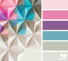 folded hues | for all who ♥ color Folded Hues - http://design-seeds.com/home/entry/folded-hues