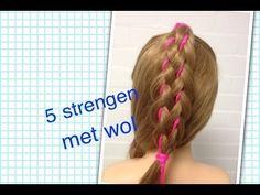5 strengen met wol