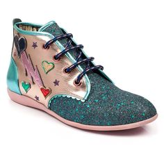 sports shoes aaf2d 71b7d  irregular choice  boots  fashion  AW18 Chaussures De Choix Irréguliers,  Éclair,