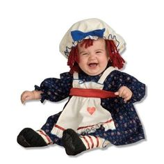 Yarn Babies Ragamuffin Dolly Infant Costume Size Infant