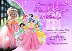 Disney Princess Birthday Party Invitation  by FantasticInvitation, $8.99