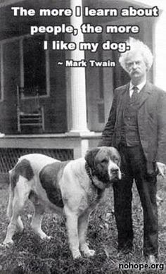 Mark Twain was right about everything.