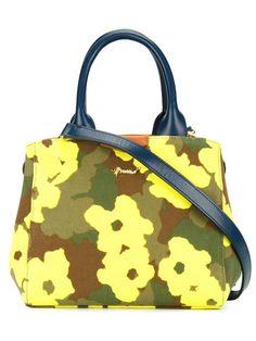Muveil Kleine Handtasche mit Camouflage-Print